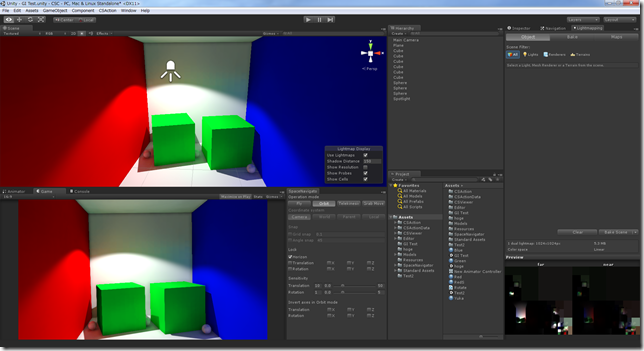 Unity Lighting GI