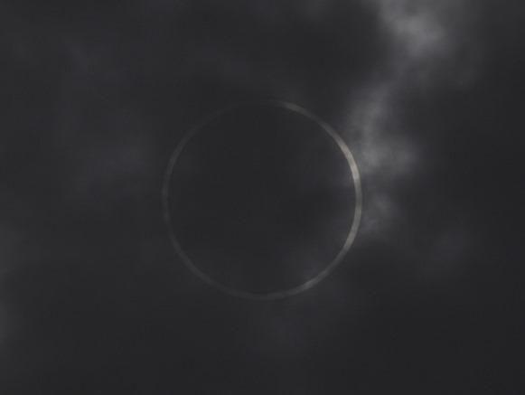 真・金環日食